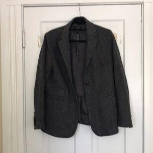 J Crew 100% wool tweed blazer
